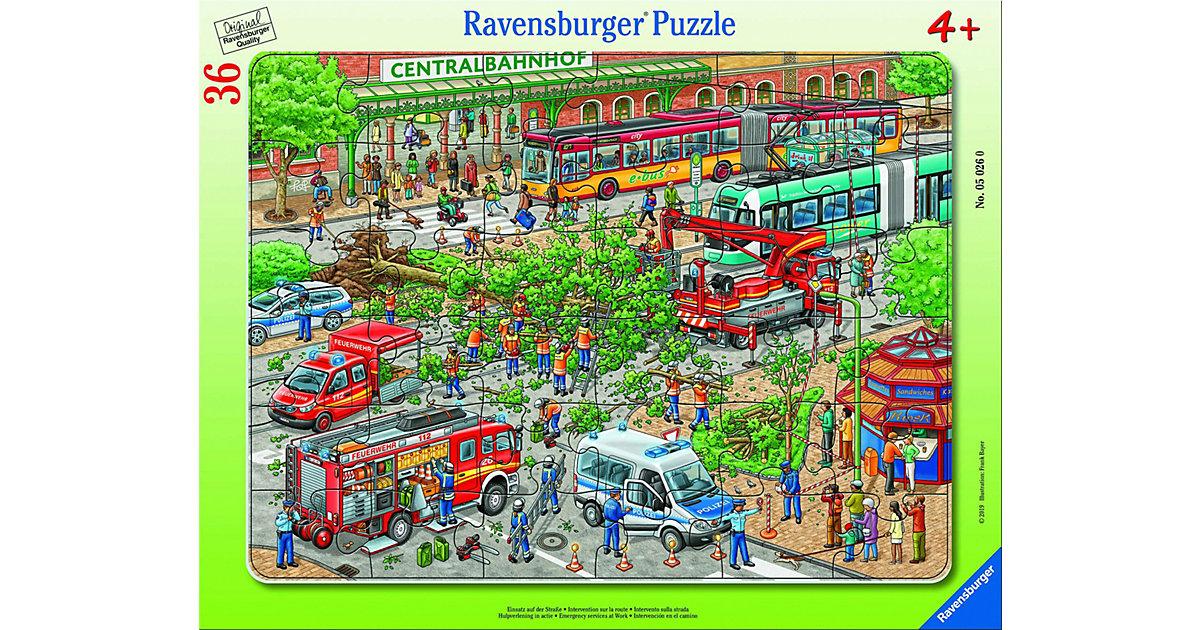 Einsatz auf der Straße, 30-48 Teile Rahmenpuzzle