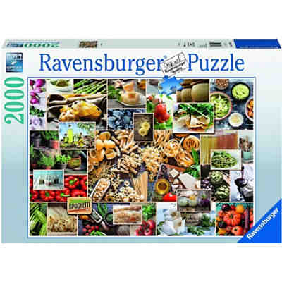 Puzzle Food Collage, 2.000 Teile