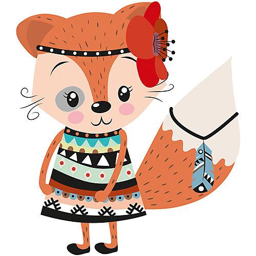 """Картина по номерам Фрея """"Маленькая Покахонтас"""",  картон от Фрея"""