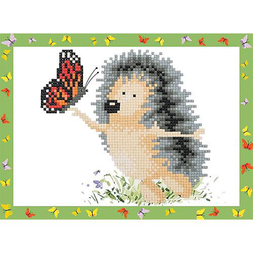 """Кристальная мозаика Фрея """"Ежик с бабочкой"""" от Фрея"""