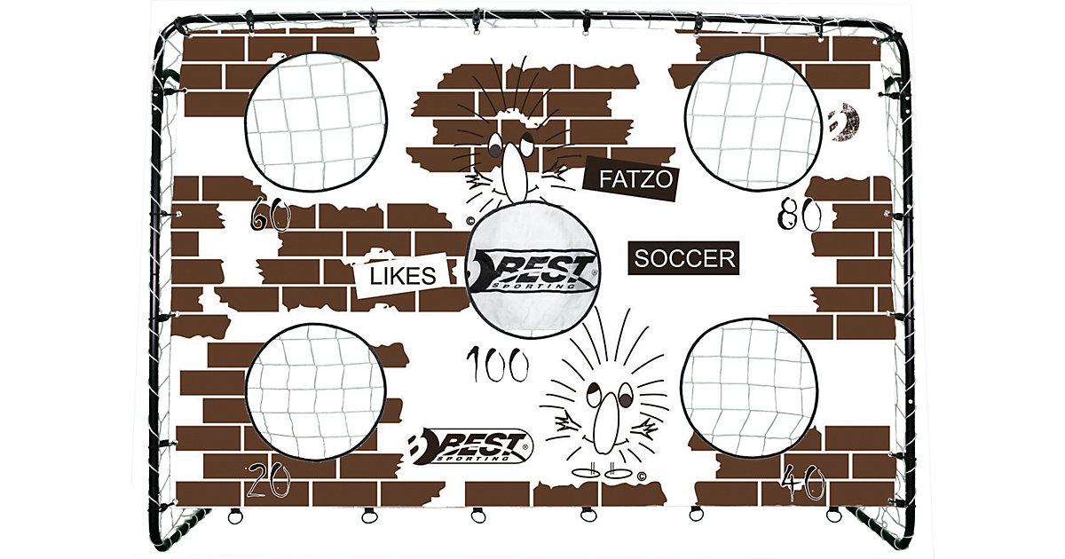 Fußballtor FATZO 500 schwarz/braun