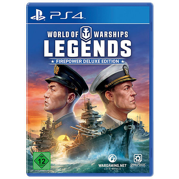 PS4 World of Warships Legends - Firepower Deluxe Ed.