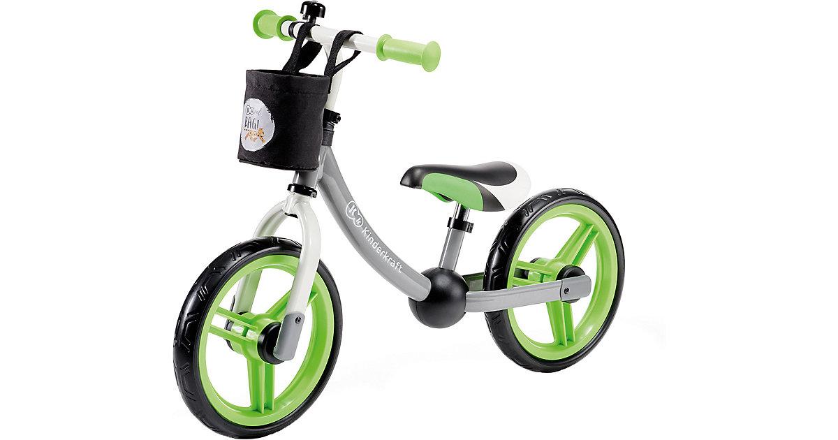 Laufrad 2WAY NEXT, green/grey grau/grün Gr. 12   Kinderzimmer > Spielzeuge > Kinderfahrräder   Kinderkraft