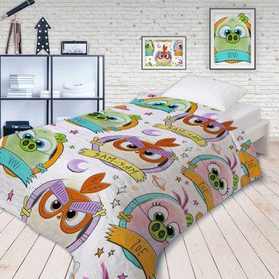 "Покрывало стеганое Непоседа ""Angry Birds 2"" Птенчики"