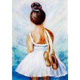 """Набор для валяния Цветной """"Маленькая балерина"""""""