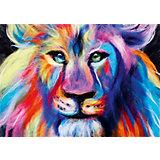 """Набор для валяния Цветной """"Радужный лев"""""""