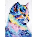 """Набор для валяния Цветной """"Радужный котенок"""""""