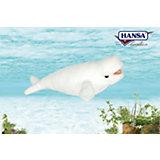"""Мягкая игрушка Hansa """"Кит белуха"""", 25 см"""