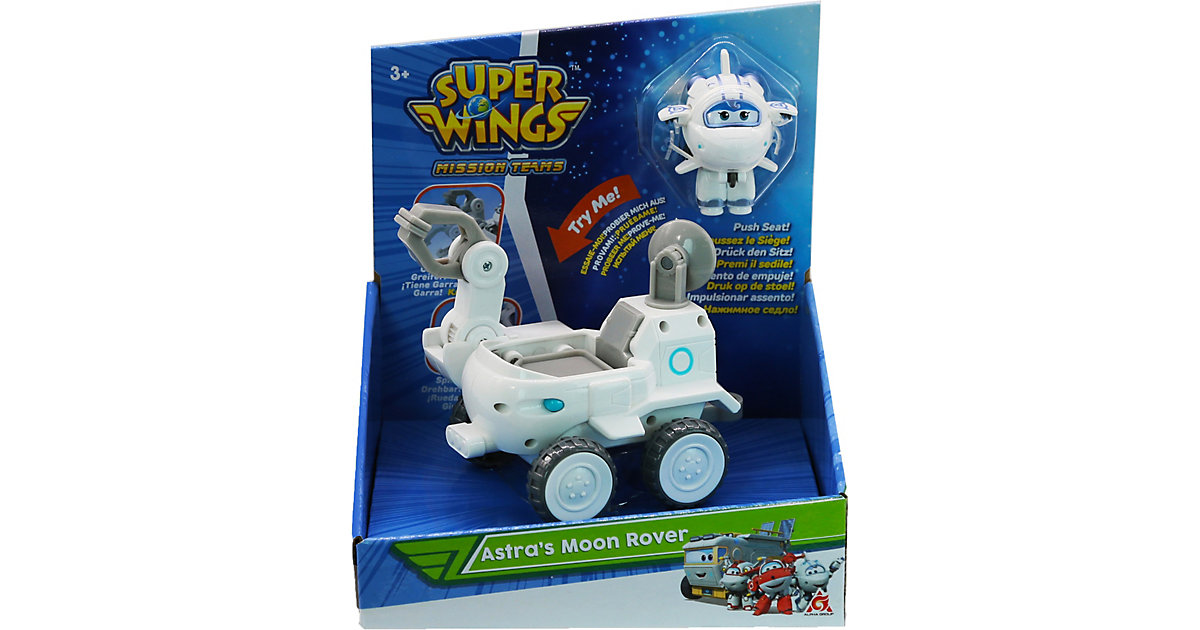 Super Wings Astra's Moon Rover