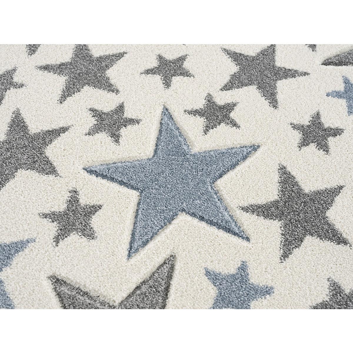 Kinderteppich STELLA creme/silbergrau-blau 120 x 180 cm Happy Rugs EYU0g
