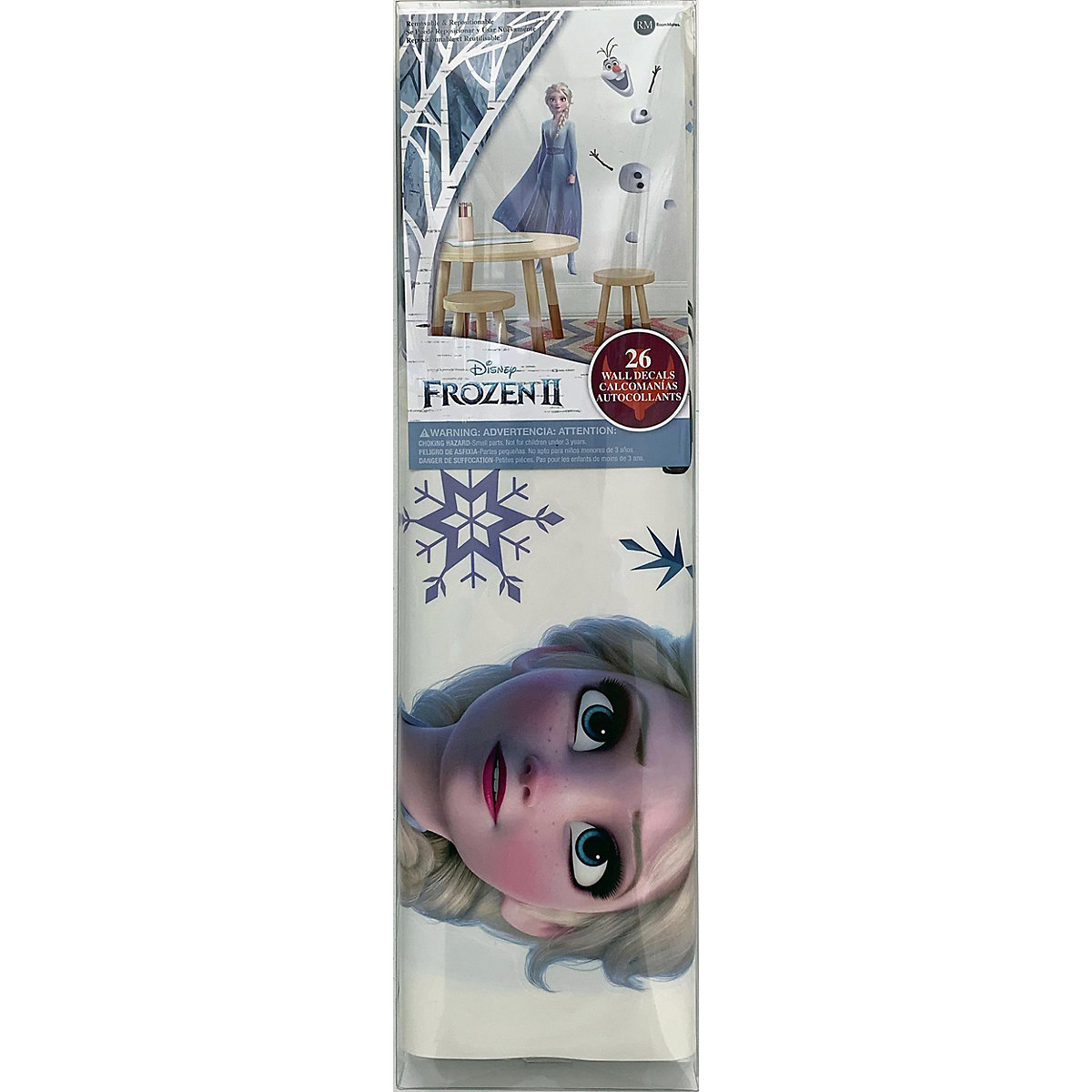 Wandsticker Disney Frozen II - Elsa & Olaf Disney Die Eiskönigin q1z5w