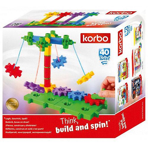 Конструктор Korbo Twist, 40 деталей от Korbo