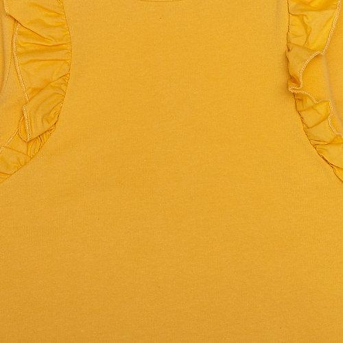 Комплект carter`s: лонгслив и леггинсы - желтый от carter`s