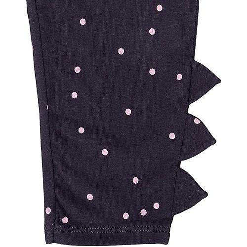 Комплект carter`s: лонгслив и леггинсы - блекло-розовый от carter`s