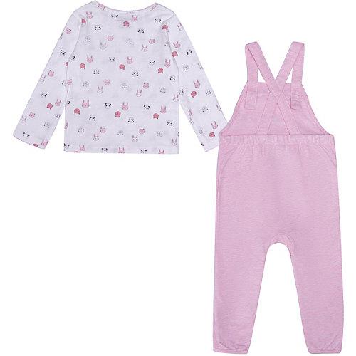 Комплект carter`s: свитшот и комбинезон - блекло-розовый от carter`s