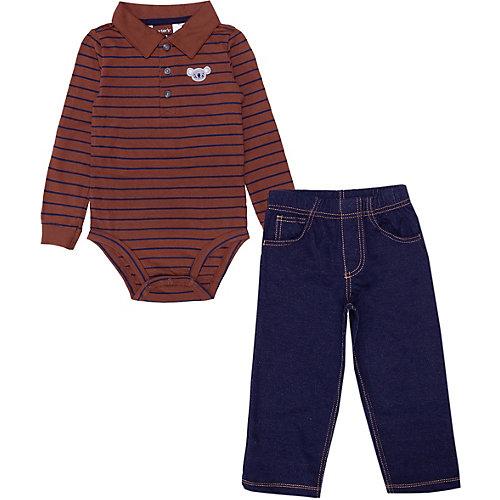 Комплект для новорожденного carter's - коричневый от carter`s