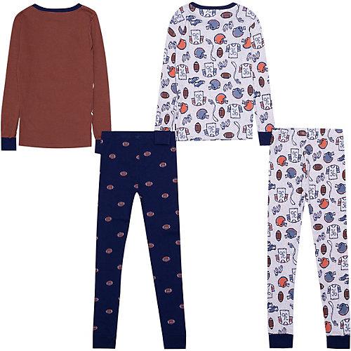 Пижама carter`s, 2 шт. - коричневый от carter`s