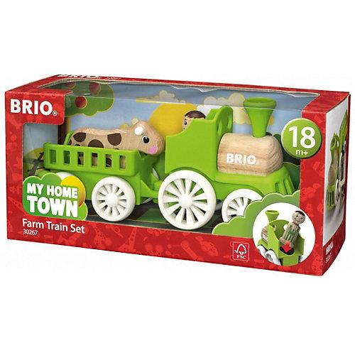 """Игровой набор Brio """"Мой родной дом"""" Фермерский поезд от BRIO"""