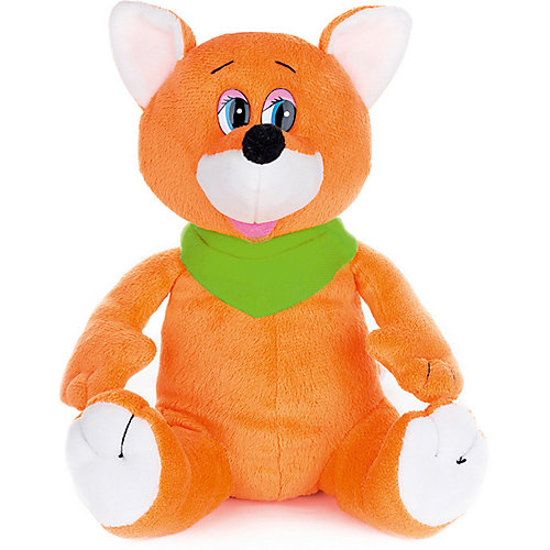 Мягкая игрушка Maxi Play Лисенок Шалунишка озвученный, 20 см от Maxitoys