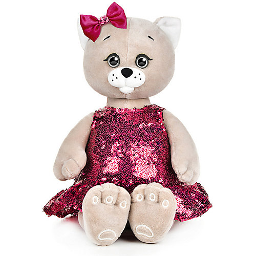 Мягкая игрушка Колбаскин&Мышель Мышель в красном платье 25 см от Колбаскин&Мышель