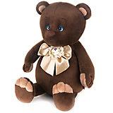 Мягкая игрушка Romantic Plush Club Романтичный медвежонок с бантиком 20 см