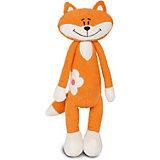 Мягкая игрушка Maxitoys Luxury Slim Лисичка с цветочком 33 см