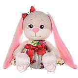 Мягкая игрушка Jack&Lin Зайка в летнем платье 20 см