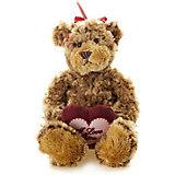 Мягкая игрушка Maxitoys Luxury Мишка Рита с сердцем 23 см