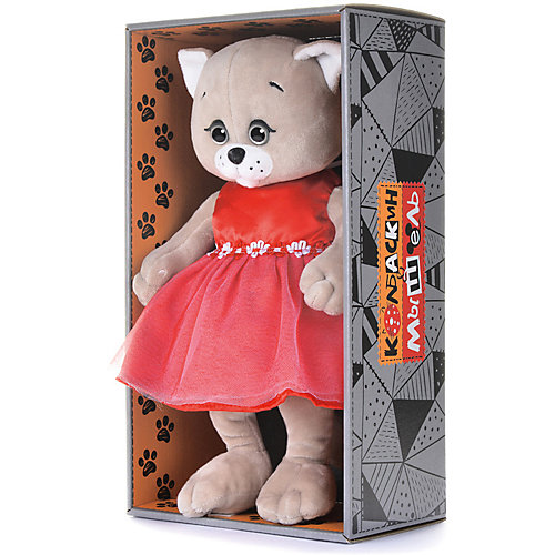 Мягкая игрушка Колбаскин&Мышель Мышель в красном платье 20 см от Колбаскин&Мышель