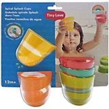 Набор игрушечных  стаканчиков для ванны Tiny Love