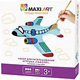 """Набор для раскрашивания Maxi Art """"Игрушка"""" Самолёт"""