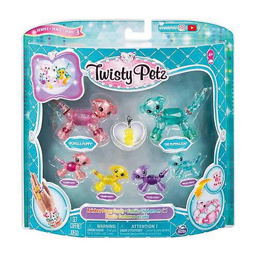 Набор игрушек-украшений Twisty Pets Семья Щенков от Twisty Petz
