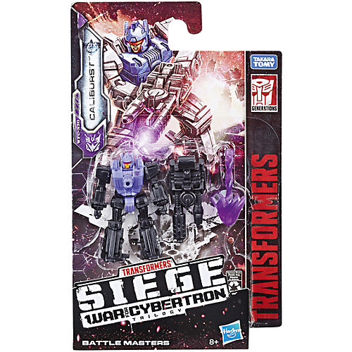 Трансформер Transformers Война за Кибертрон Боевой мастер Калибёрст от Hasbro