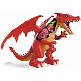 """Радиоуправляемая игрушка Zuru RoboAlive """"Робо-дракон"""" Пламень"""
