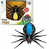 Радиоуправляемая игрушка 1Toy RoboLife Робо-паук, чёрно-синий