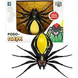 Радиоуправляемая игрушка 1Toy RoboLife Робо-паук, чёрно-жёлтый