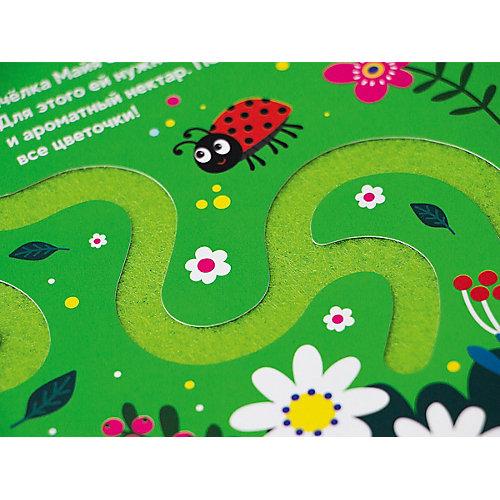 Тактильная книжка Malamalama Трогательные лабиринты. Что сегодня на обед? от Malamalama