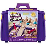 Набор для лепки Kinetic Sand с песочницей
