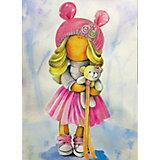 """Набор для создания картины из мозаики Цветной """"Кукла Лера"""""""
