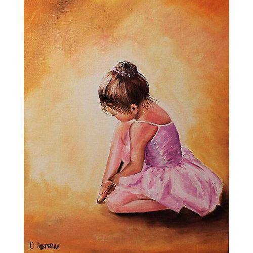 """Набор для создания картины из мозаики Цветной """"Балерина малышка"""""""