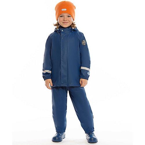 Непромокаемый комплект BJÖRKA: ветровка и брюки - темно-синий от BJÖRKA