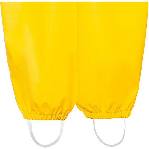 Непромокаемый полукомбинезон BJÖRKA - желтый от BJÖRKA