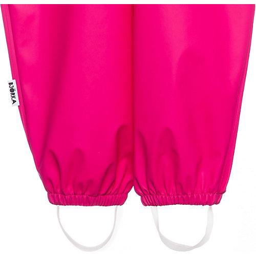 Непромокаемый полукомбинезон BJÖRKA - розовый от BJÖRKA