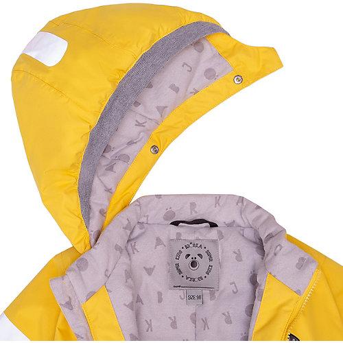 Демисезонный комбинезон BJÖRKA - желтый от BJÖRKA