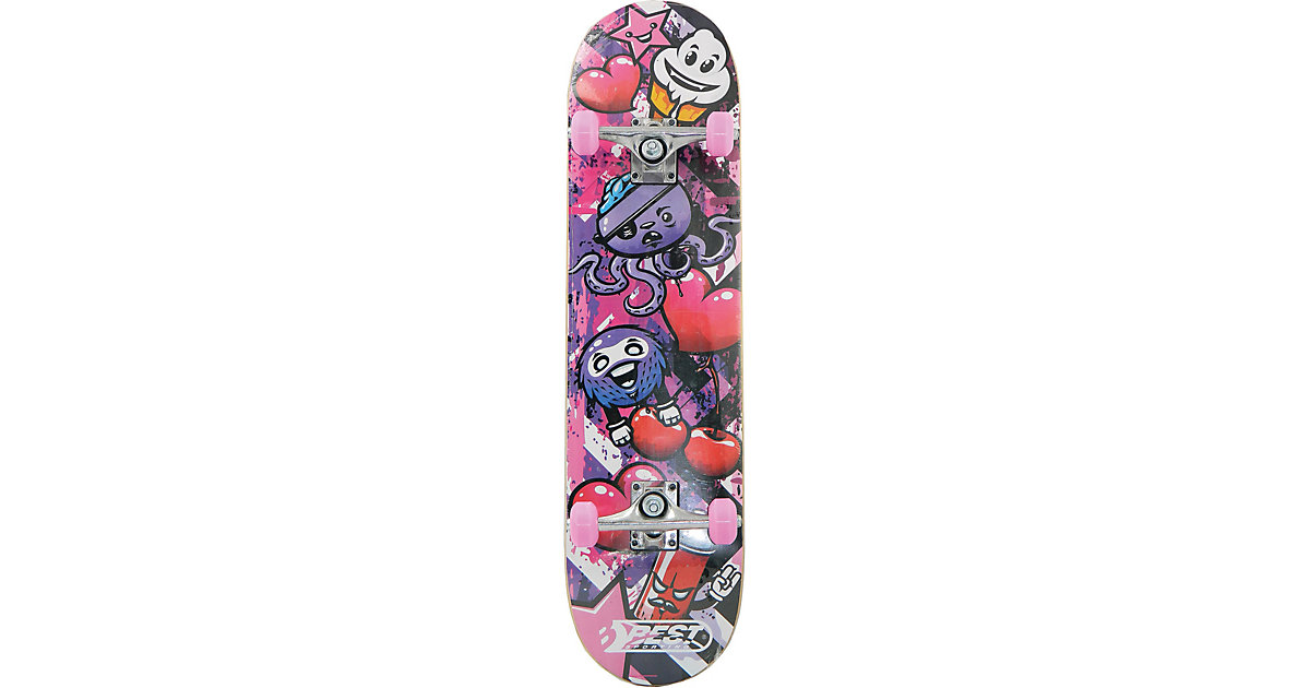 "Skateboard A3 ""Kid"" Ocotopus pink"