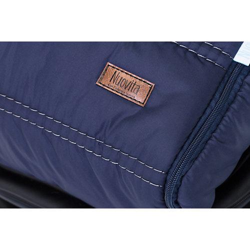 Меховой конверт Alpino Bianco тёмно-синий от Nuovita