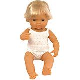 "Кукла Miniland ""Мальчик европеец"", 38 см"