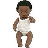 """Кукла Miniland """"Мальчик африканец"""", 38 см"""