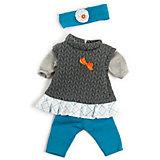 Комплект одежды для куклы Miniland 40 см