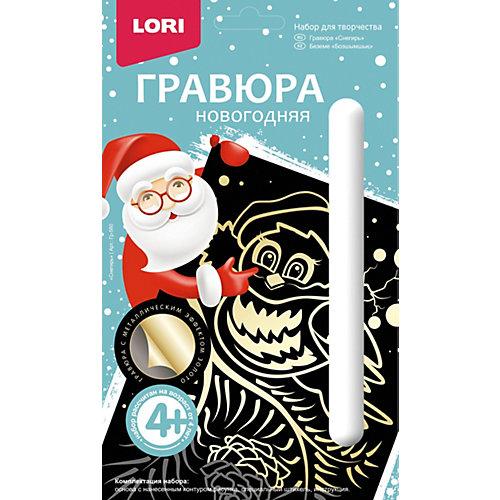 """Гравюра новогодняя Lori """"Снегирь"""" от LORI"""